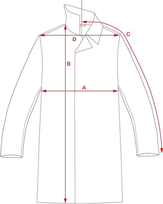 coat sizing image
